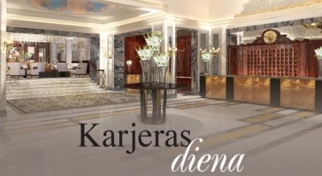 ''Grand Hotel Kempinski Riga'' organizē karjeras...