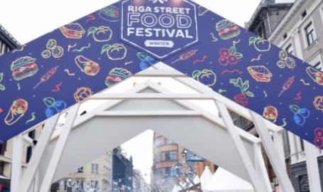 Šodien Vecrīgā norisinājās -Riga Street food festival