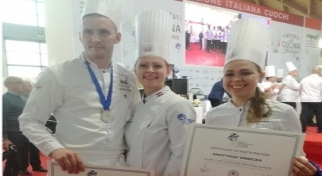 Global chef challenge European.Pusfinals 2.diena