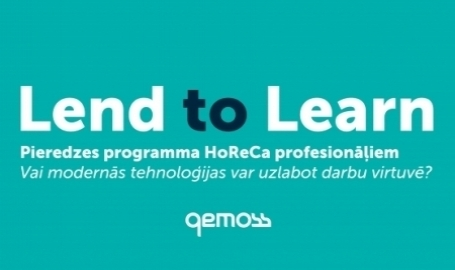 """Uzsākta HoReCa profesionāļu pieredzes programma """"Lend to Learn"""""""